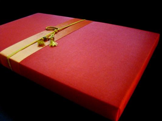 กล่องผ้าไหม กล่องบรรจุภัณฑ์ กันต์โตะ ชาดอกไม้ ชาสมุนไพร เชียงใหม่ - Silk Box