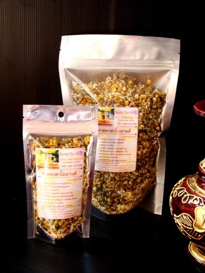ชาดอกคาโมมายล์ - บรรจุภัณฑ์ กล่องโลหะ กล่องกระดาษสา กล่องผ้าไหม เชียงใหม่