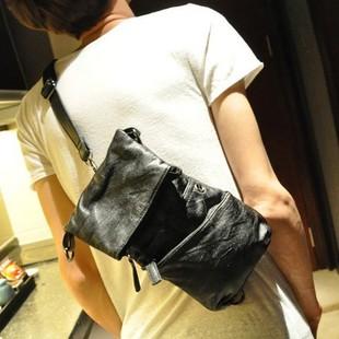 เสื้อผ้าผู้ชายผู้หญิงรา คาถูก กระเป๋าแฟชั่น กระเป๋าสะพาย อก ไหล่ มี สีดำ
