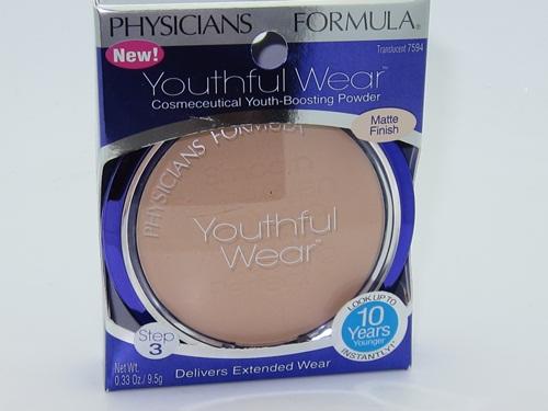 **พร้อมส่ง**Physicians Formula Youthful Wear Cosmeceutical Youth-Boosting Powder Matte Finish, Translucent  (สูตรเนื้อแมท) มหัศจรรย์กับแป้งลดอายุ ดูเด็กลง 10 ปี ว้าวๆ!! แป้งโปร่งแสงใช้ได้ทุกสีผิว ช่วยให้ใบหน้าดูเด็กลง เพียงใช้ 3 สัปดาห์ ริ้วรอยจะจางลง ผิว