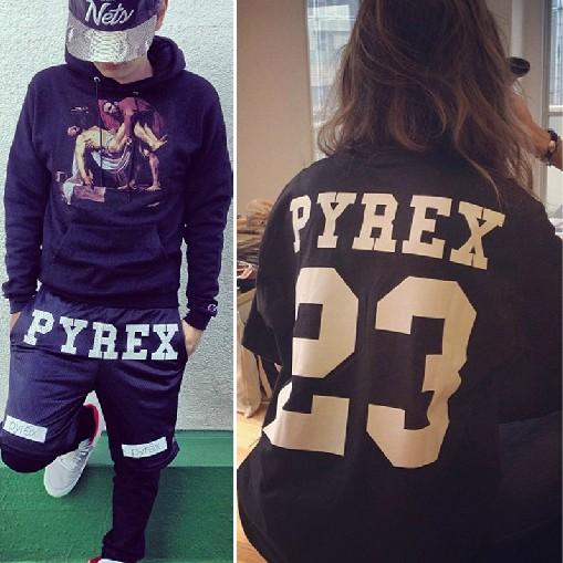 เสื้อ PYREX VISION 23 Hoodie ASAP ROCKY KANYE WEST  TAG AUTHETIC (แบบไม่มีกระเป๋า)