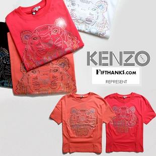 เสื้อยืดแขนสั้น  KENZO  แฟชั่นเกาหลี