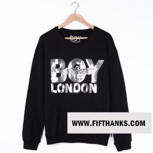 เสื้อยืด แขนยาว   BOY LONDON LOGO แฟชั่น