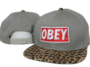 หมวกผู้ชาย ผู้หญิง ราคาถูก หมวกเบสบอล หมวก Hiphop OBEY (ปรับได้)