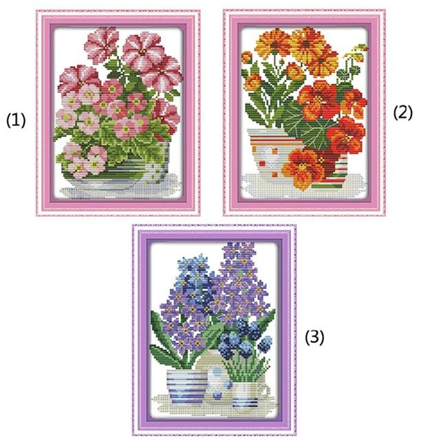 Potted flower series (ไม่พิมพ์/พิมพ์ลาย)