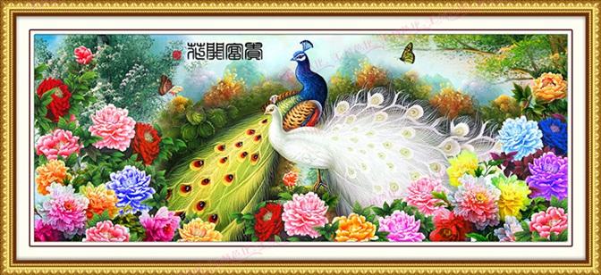 Peacock&ampPeony (พิมพ์ลาย)