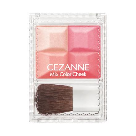 **พร้อมส่ง**ใหม่ล่าสุด CEZANNE MIx Color Cheek #02 Coral บรัชออนสีสวยประกายวิ้งๆ บรัชออน 3 สีและไฮไลท์ 1 สีในตลับเดียวให้สาวๆได้เบลนสีได้ตามชอบใจ บรัชออนผสมชิมเมอร์เนื้อละเอียดขับพวงแก้มให้เปล่งประกายมีชีวิตชีวา สีสันระเรื่อแต่เปล่งประกายคมชัด ติดทนนานทำใ