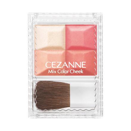 **พร้อมส่ง**ใหม่ล่าสุด CEZANNE MIx Color Cheek #03 Orange บรัชออนสีสวยประกายวิ้งๆ บรัชออน 3 สีและไฮไลท์ 1 สีในตลับเดียวให้สาวๆได้เบลนสีได้ตามชอบใจ บรัชออนผสมชิมเมอร์เนื้อละเอียดขับพวงแก้มให้เปล่งประกายมีชีวิตชีวา สีสันระเรื่อแต่เปล่งประกายคมชัด ติดทนนานทำ