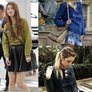เสื้อ SWEATER TIGER  KENZO 2013 แฟชั่น  Selena Gomez, Kate Mos,  Suzy Miss A