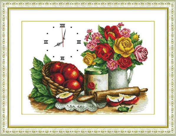 Fruit & Rose (+นาฬิกา)(พิมพ์ลาย)