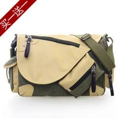กระเป๋าผู้ชาย ราคาถูก กระเป๋าสะพาย มี สีดำ สีกาีกี สีน้ำตาล สีเขียวทหาร