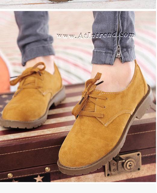 รองเท้า รองเท้าผู้หญิง รองเท้าแฟชั่นผู้หญิง รองเท้าหุ้มส้น สีโอีค สีแดง สีแสด สีเทา สีชมพู สีน้ำตาล(โอ๊คเข้ม) รองเท้าผู้หญิงเท่ๆ รองเท้าผู้หญิงหุ้มส้น รองเท้าหญิงน่ารักๆ รองเท้าคัทชู ไซส์ 35 36 37 38 39 แฟชั่นหญิงเกาหลี