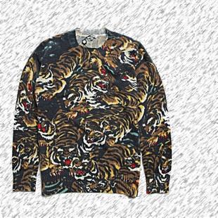 SWEATER   TIGER BY KENZO   เสื้อกันหนาว แขนยาว แฟชั่นเสื้อผ้าชายหญิง