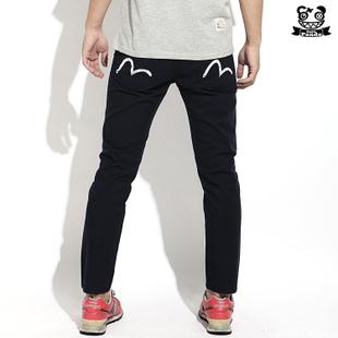 PANTS  EVISU M  กางเกงลำลองขายาว  แฟชั่นเสื้อผ้าชายหญิง