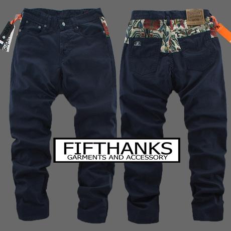 กางเกง ลำลอง  ขายาว SUPERABLY แฟชั่นการเกงผู้ชาย  สินค้ารับประกันคุณภาพ  สินค้าส่งตรงจากจากต่างประเทศ