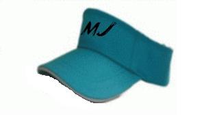 ขายส่งหมวกไวเซอร์สำเร็จรูป หมวกสีฟ้า , หมวก Visor , หมวกเปิดศีรษะ หมวกกันแดด พร้อมรับปักโลโก้ 063-263-9542