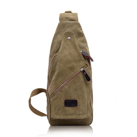 กระเป๋าผู้ชาย ราคาถูก กระเป๋าสะพาย มี สีดำ สีกากี สีน้ำตาล สีเขียวทหาร