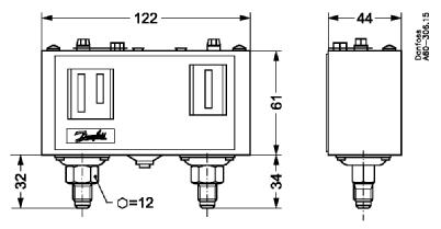 KP15 Pressure Switch
