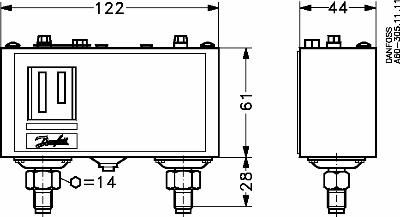 KP15A Pressure Switch