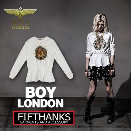 BOY LONDON NEW COLLECTION เสื้อแขนยาว  แฟชั่นเสื้อผ้าผู้หญิง
