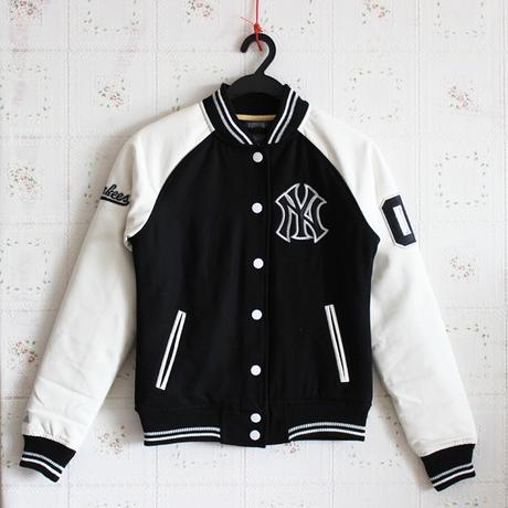 JACKET MLB MAJOR LEAGUE BASEBALLเสื้อแจ็คเก็ต เบสบอล แฟชั่น  รุ่น NY NEW YORK 03