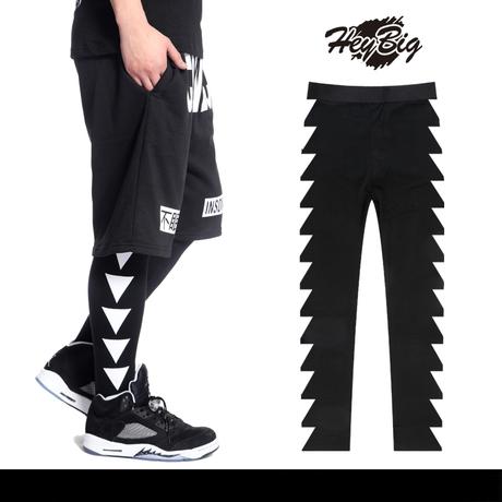 กางเกงเลกกิ้ง ขายาว เสื้อผ้าชายและหญิง แฟชั่นสตรีทแวร์