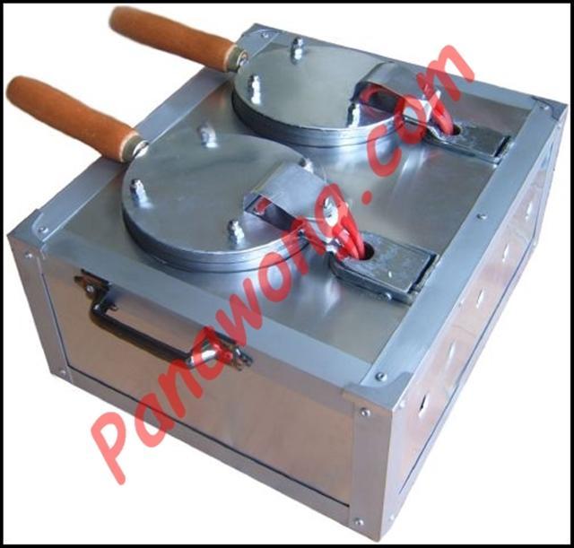 เครื่องทำขนมทองม้วนแบบ 2 หัว