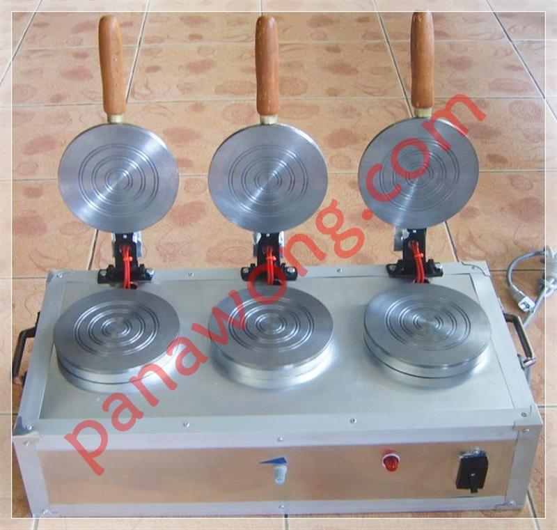 เครื่องทำขนมทองม้วนแบบ 3 หัว