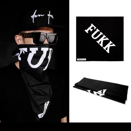 SCARF FUKK  ผ้าคลุมแฟชั่น POP ROCK FASHION