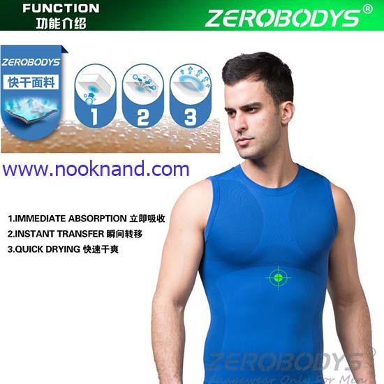 เสื้อกล้ามลดหน้าท้องสำหรับผู้ชาย ใส่เล่นกีฬา ฟิตเนส หรือใส่นอนก็ได้