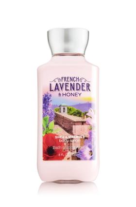 **พร้อมส่ง**Bath & Body Works French Lavender & Honey Shea & Vitamin E Body Lotion 236 ml. โลชั่นบำรุงผิวสุดพิเศษ กลิ่นหอมของดอกลาเวนเดอร์ฝรั่งเศส ผสมกับดอกลิลลี่และ musk หอมนุ่มนวลน่าหลงไหล