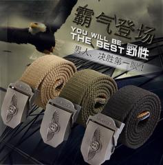 เข็มขัดผู้ชาย ราคาถูก เข็มขัดแฟชั่น เท่ๆ มี สีดำ สีกากี สีกองทัพเขียว