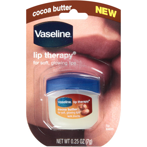 **พร้อมส่ง**Vaseline Lip Therapy Cocoa Butter ขนาดพกพา 7 g. ลิปบำรุงรักษาริมฝีปากปกป้องผิวปากให้เรียบอิ่มเอิบ ปรนนิบัติผิวริมฝีปากด้วยปิโตรเลียมเจลลี่(ปิโตรทั่ม) และ โกโก้บัตเตอร์ เพิ่มความชุ่มชื่น คงสภาพผิวที่สมบูรณ์แบบให้ริมฝีปากคุณ ตลอดยาวนานทั้งวัน เห