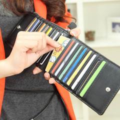 กระเป๋าผู้ชายผู้หญิงราคาถูก กระเป๋าแฟชั่น เกาหลี กระเป๋าสตางค์ มี สีดำ สีฟ้า สีน้ำตาล
