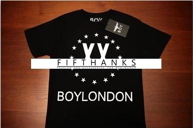 T-SHIRT  BOY  LONDON  STAR XX เสื้อยืดแฟชั่น STREETWEAR  STYLE  FASHION