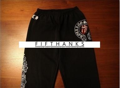 PANTS  CHR*ME  HE*RTS  FAHION  กางเกงกีฬา กางเกงขายาวแฟชั่น SPORT TROUSERS