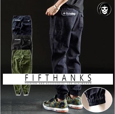 TR*USER$  กางเกงลำลอง jogger  subciety  pants  กางเกงขายาวแฟชั่นผู้ชาย