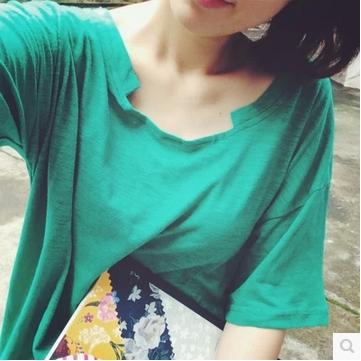 BLOUSES  เสื้อยืดแฟชั่น เสื้อผ้าสำหรับผู้หญิงแนววินเทจ casual  cotton t-shirt  fashion  korea  style