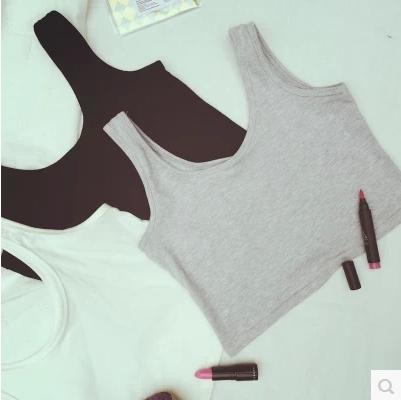 TOP/BLOUSES  เสื้อกล้าม แขนกุดแฟชั่น เสื้อผ้าสำหรับผู้หญิงแนววินเทจ casual  cotton top  and  t-shirt  fashion  korea  style