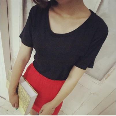 BLOUSES/T-SHIRT  เสื้อยืดแฟชั่น เสื้อผ้าสำหรับผู้หญิง casual  basic  t-shirt  fashion/style