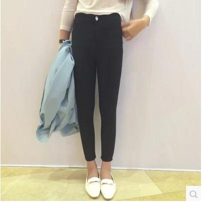 TROUSERS กางเกงขายาวแฟชั่น กางเกงเอวสูงสำหรับผู้หญิง leggings  and  pencil pants  korean  fashion