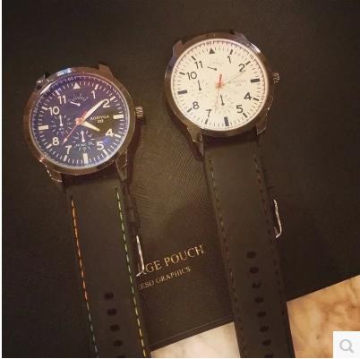 WATCH  นาฬิกาข้อมือแฟชั่น นาฬิกาแฟชั่น sports  classic  men  and  female  watches  fashion