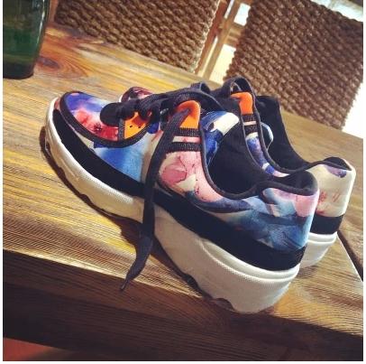 SHOES  รองเท้าผ้าใบแฟชั่น แฟชั่นสำหรับผู้หญิง sport   women  sneakers fashion