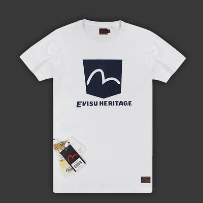 T-SH*RT   EVI*SU  เสื้อยืดแฟชั่นอีวิสุ เสื้อผ้าแฟชั่นผู้ชาย EVI*SU  M  HERITAGE  สินค้าแบรนด์ดังในญี่ปุ่น