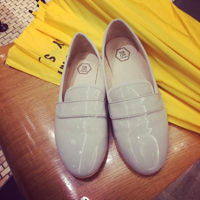 SHOES  รองเท้าคัทชูแฟชั่น รองเท้าหนังแฟชั่นสำหรับผู้หญิงแนว leather  shoes  fashion