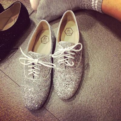SHOES/BOOTS รองเท้าหนัง  รองเท้าคัทชูแฟชั่น รองเท้าแฟชั่นสำหรับผู้หญิง monk  shoes  Korean  fashion