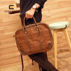 กระเป๋าผู้ชาย ราคาถูก กระเป๋าสะพาย ถือ เท่ๆ มี สีกาแฟ