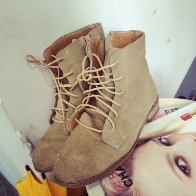 SHOES/BOOTS  รองเท้าบูทแฟชั่น รองเท้าผู้หญิงแฟชั่น รองเท้าคัทชูผู้หญิงรุ่นคลาสสิก รองเท้าแฟชั่นสำหรับผู้หญิงสไตล์วินเทจ ฮาราจูกุแฟชั่น เกาหลี ญี่ปุ่น