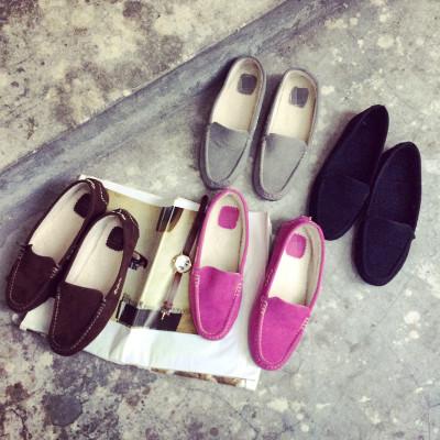 SHOES รองเท้าคัทชู รองเท้าหนังผู้หญิงแฟชั่น รองเท้าคัทชูผู้หญิงรุ่นคลาสสิก รองเท้าแฟชั่นสำหรับผู้หญิงสไตล์วินเทจ ฮาราจูกุแฟชั่น เกาหลี ญี่ปุ่น