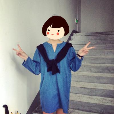 DRESS  JEANS  ชุดเดรสยีนส์ ทรงA แฟชั่น ชุดวันพีชยีนส์แขนยาว ชุดเดรสแนววินเทจแฟชั่น สำหรับผู้หญิงสไตล์ญี่ปุ่นเกาหลี ฮาราจูกุ เสื้อผ้าวินเทจแฟชั่น